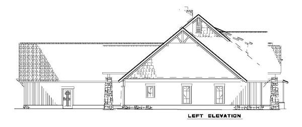 House Plan 82216 with 4 Beds, 4 Baths, 3 Car Garage Picture 1