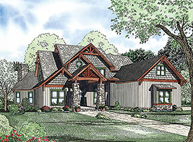 House Plan 82223 Elevation