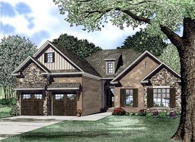House Plan 82225 Elevation