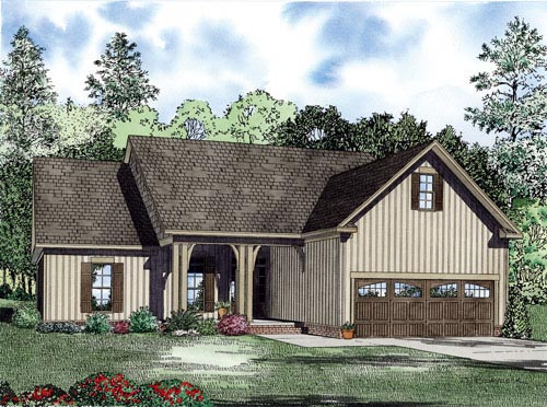 House Plan 82226 Elevation