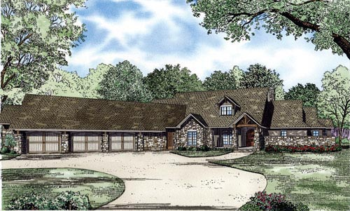 House Plan 82227 Elevation