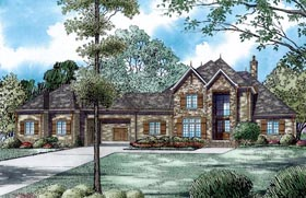 House Plan 82232 Elevation