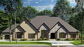 House Plan 82234 Elevation