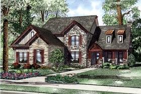 European House Plan 82240 Elevation