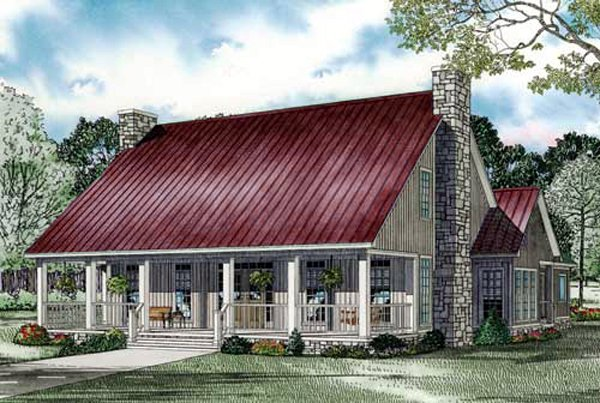House Plan 82244 Elevation