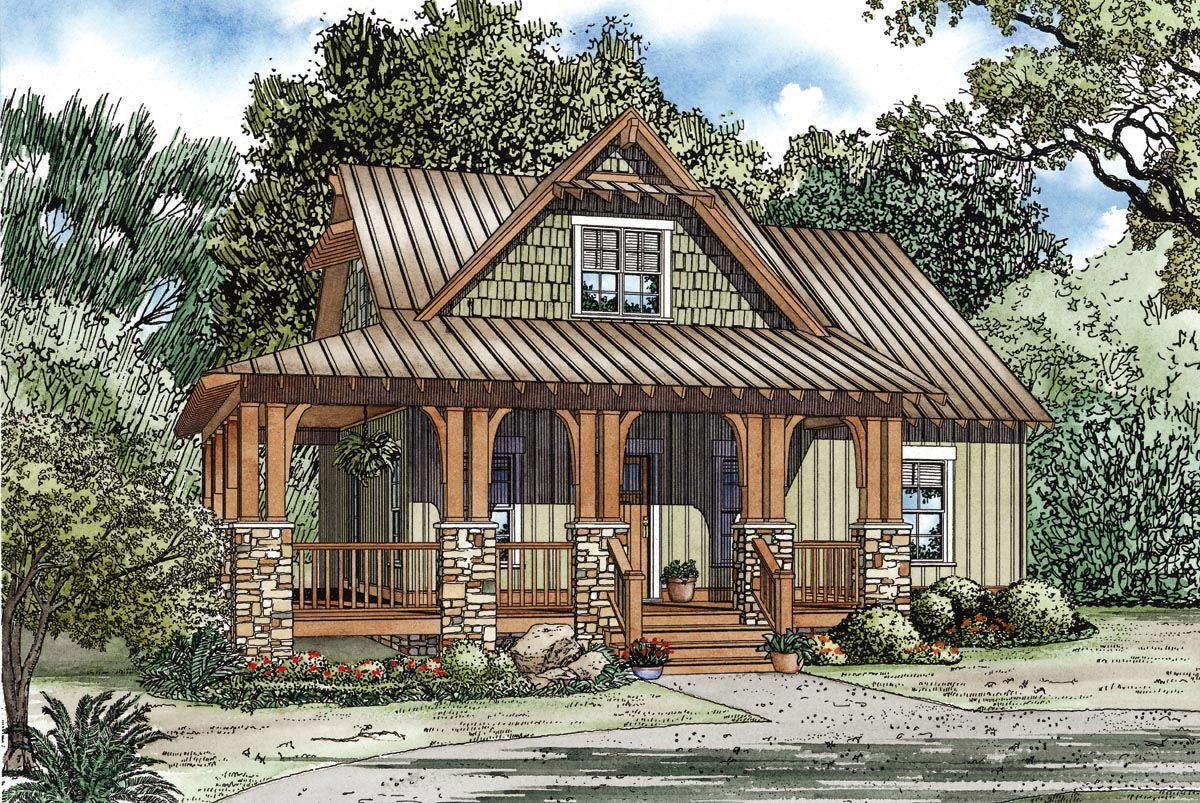 House Plan 82267 at FamilyHomePlanscom