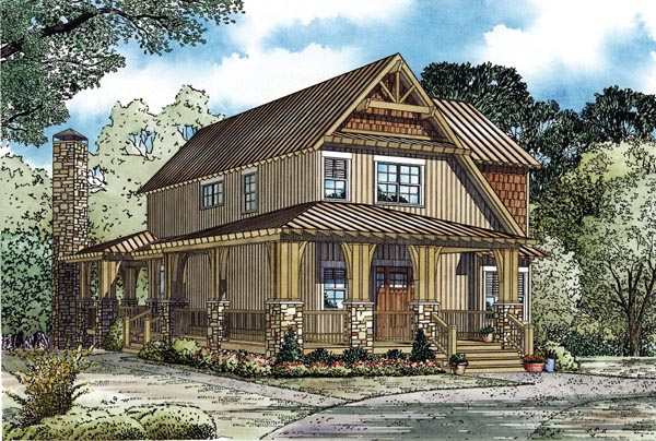 Craftsman House Plan 82269 Elevation