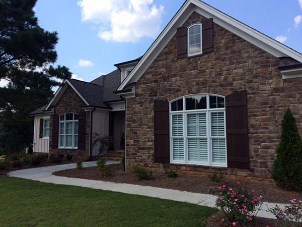 Country, Craftsman, European House Plan 82275 with 3 Beds, 3 Baths, 4 Car Garage Picture 2