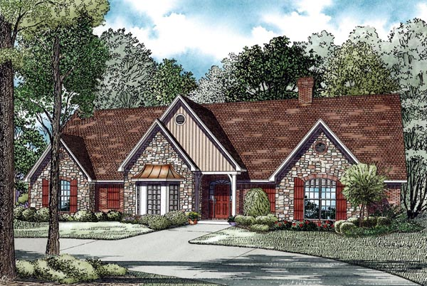 Traditional House Plan 82276 Elevation