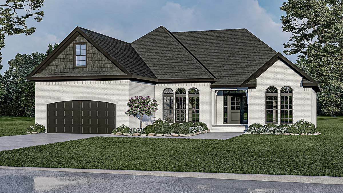 House Plan 82278 Elevation