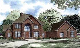 House Plan 82280 with 6 Beds, 8 Baths, 3 Car Garage Elevation
