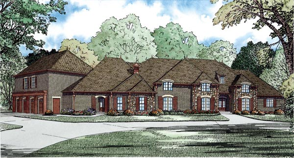 House Plan 82283 Elevation