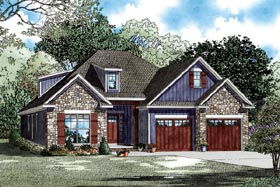 House Plan 82284 Elevation