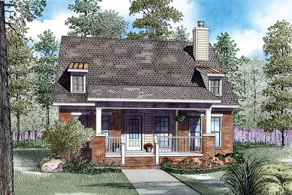 House Plan 82290 Elevation