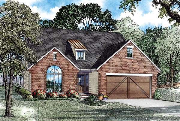Craftsman Elevation of Plan 82292