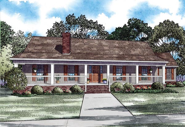House Plan 82293 Elevation
