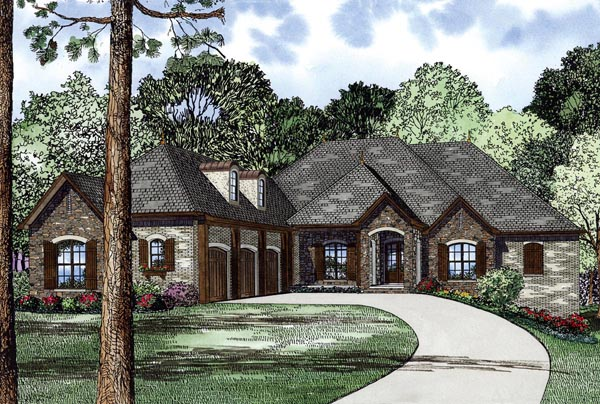 House Plan 82296 Elevation