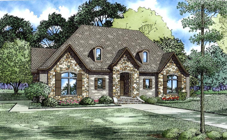 House Plan 82300 Elevation