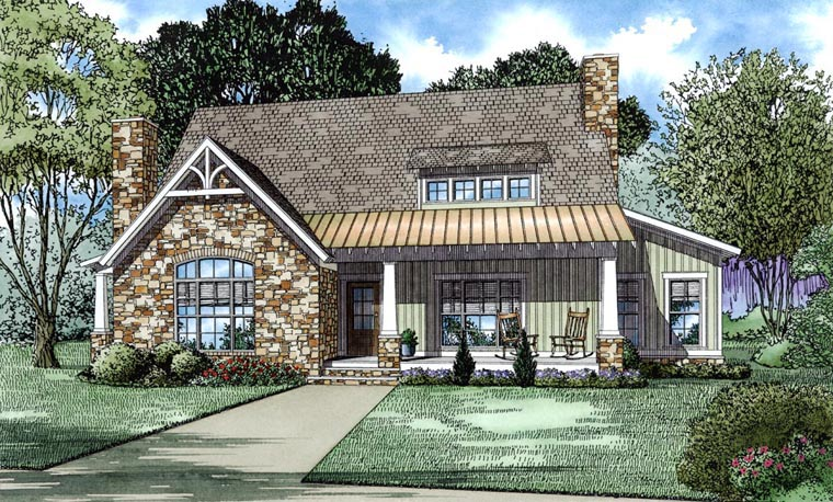 House Plan 82301 Elevation