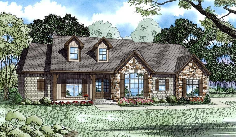 House Plan 82303 Elevation
