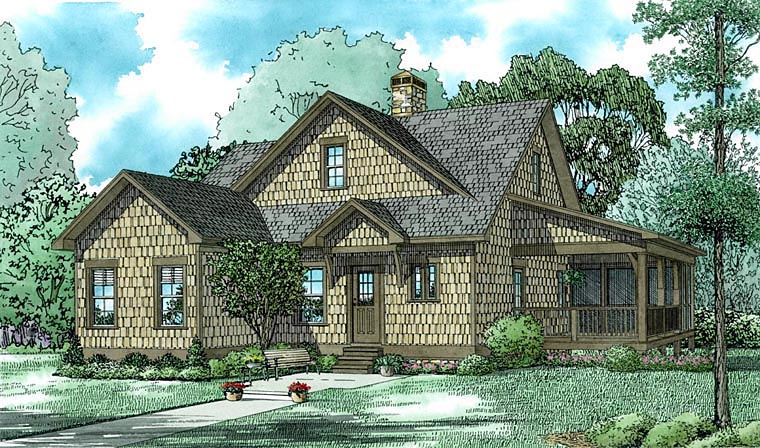 House Plan 82312 Elevation