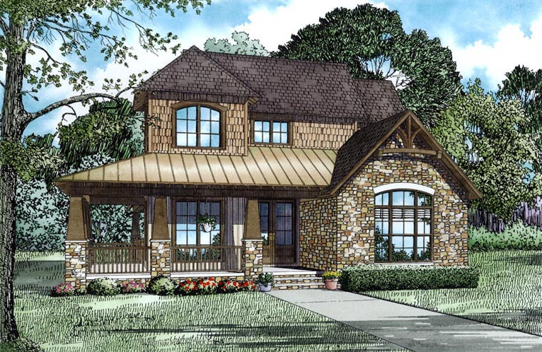 House Plan 82317 Elevation