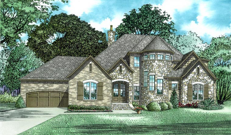 House Plan 82318 Elevation