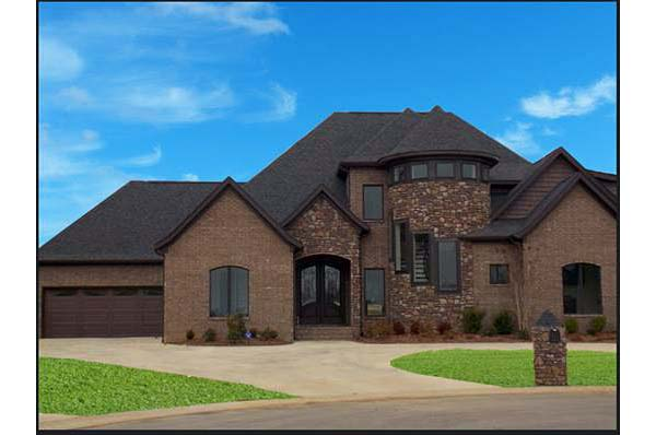 House Plan 82318 with 4 Beds, 4 Baths, 2 Car Garage Picture 1