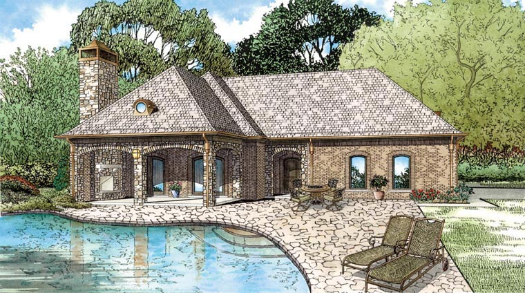 House Plan 82322 Elevation