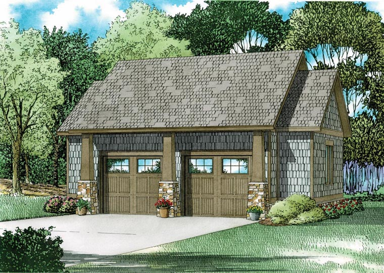 Garage Plan 82324 Elevation