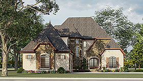 Cottage European French Country House Plan 82400 Elevation