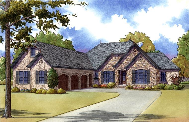 House Plan 82407