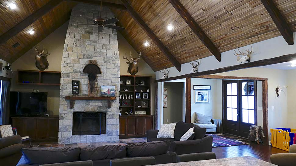 European, French Country Plan with 2409 Sq. Ft., 3 Bedrooms, 4 Bathrooms, 3 Car Garage Picture 5