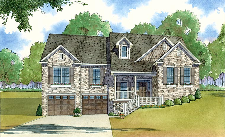 Traditional House Plan 82428 Elevation