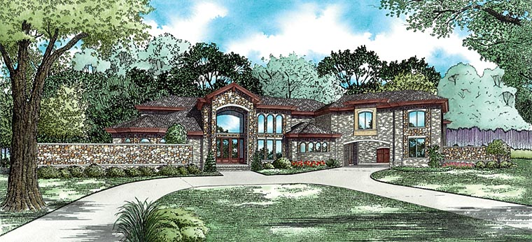 Country , European , Traditional , Elevation of Plan 82443