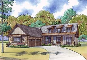 Country House Plan 82467 Elevation