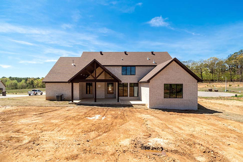 Bungalow, Craftsman, European, French Country House Plan 82475 with 4 Beds, 3 Baths, 2 Car Garage Picture 2