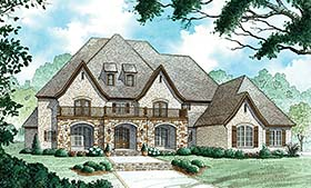 European French Country Traditional House Plan 82476 Elevation