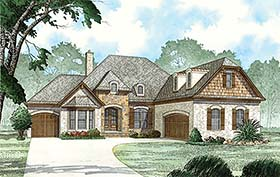 European French Country House Plan 82479 Elevation