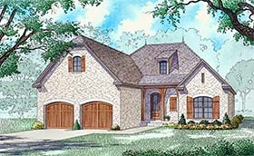 Country Craftsman European French Country House Plan 82489 Elevation