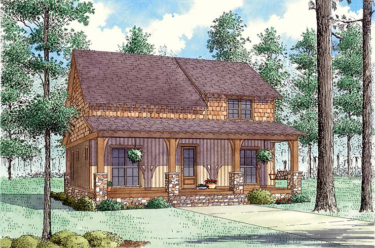 Country House Plan 82496 Elevation