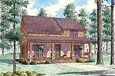 Plan Number 82496 - 1764 Square Feet