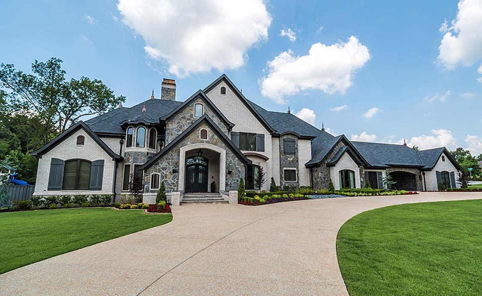 European, Traditional House Plan 82513 with 5 Beds, 7 Baths, 5 Car Garage Elevation