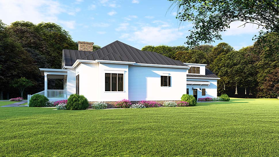 Bungalow, Country, Craftsman, Traditional House Plan 82516 with 3 Beds, 2 Baths, 2 Car Garage Picture 1