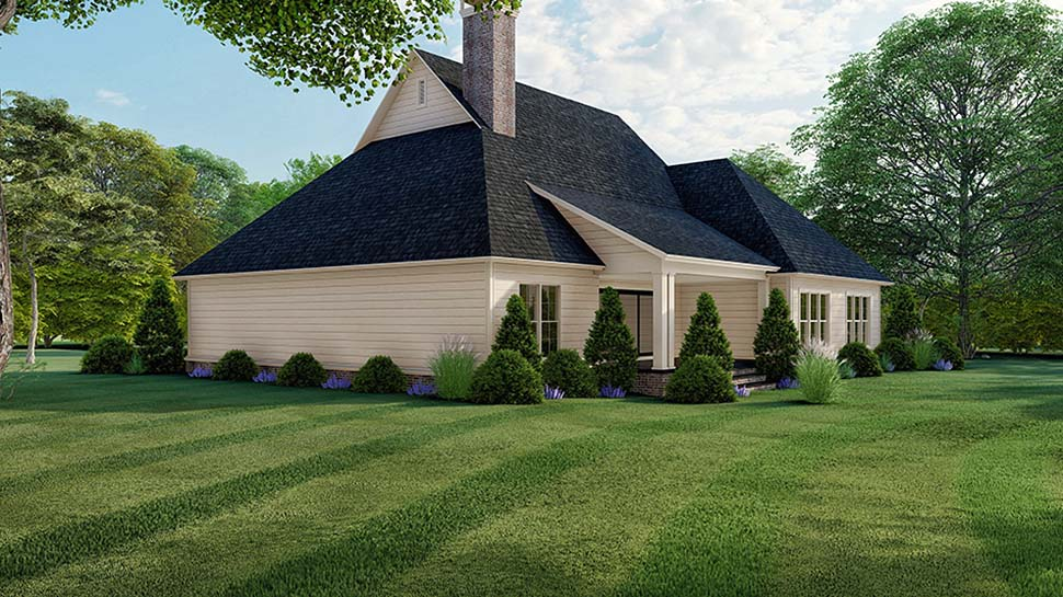 Country, Farmhouse, Southern House Plan 82521 with 3 Beds, 4 Baths, 2 Car Garage Picture 1