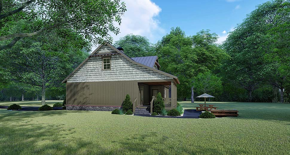 Bungalow, Country, Craftsman House Plan 82529 with 3 Beds, 2 Baths Picture 1