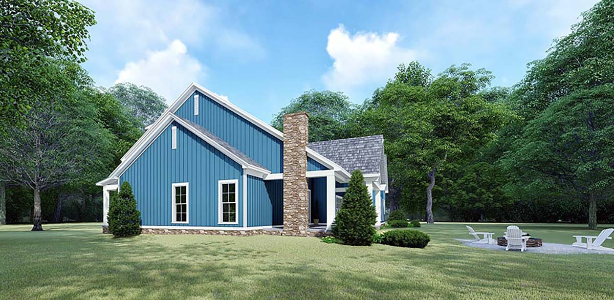 Bungalow, Country, Craftsman, Farmhouse House Plan 82533 with 3 Beds, 3 Baths, 2 Car Garage Picture 1