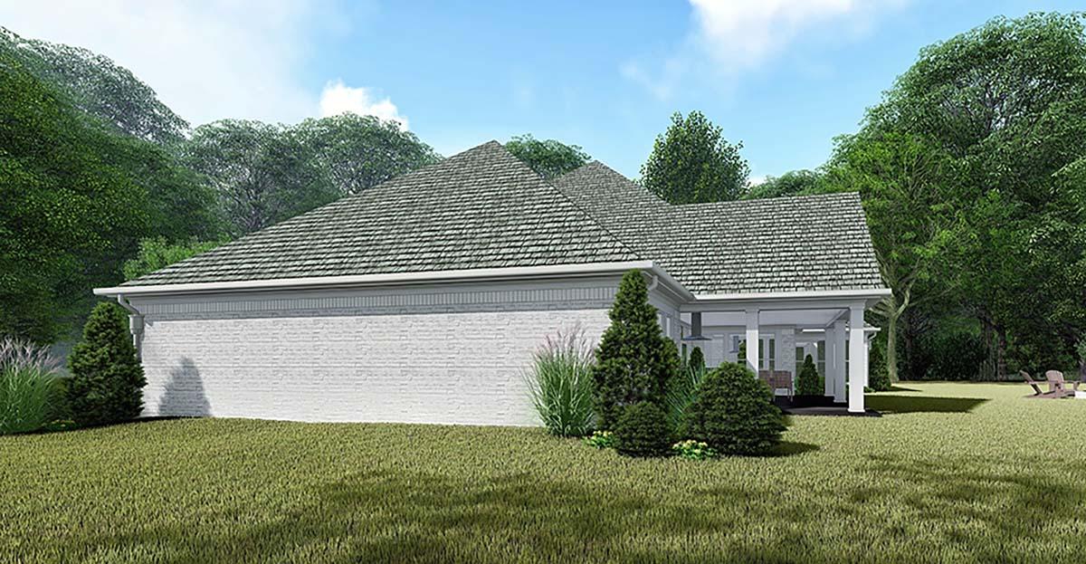 Bungalow, Craftsman, European House Plan 82538 with 3 Beds, 4 Baths, 3 Car Garage Picture 1