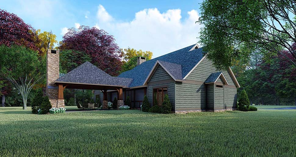 Country, Farmhouse House Plan 82564 with 3 Beds, 2 Baths Picture 2