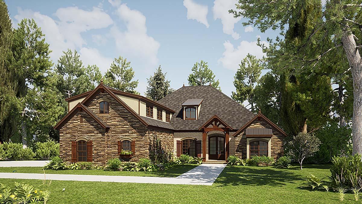 House Plan 82571